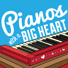 Album cover for CWM0015 Pianos with a Big Heart