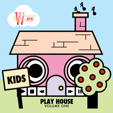 Album cover for CWM0017 Kids Playhouse Vol 1