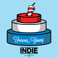 Album cover for CWM0019 Forever Young Indie