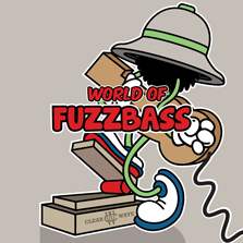 Album cover for CWM0023 World of Fuzz Bass