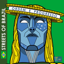 Album cover for CWM0026 Streets Of Brazil