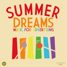 Album cover for CWM0042 Summer Dreams - Music For Advertising