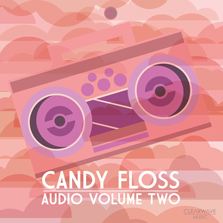 Album cover for CWM0045 Candy Floss Audio Vol. 2