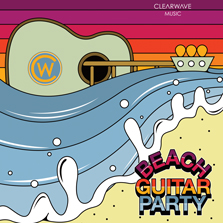 Album cover for CWM0055 Beach Guitar Party