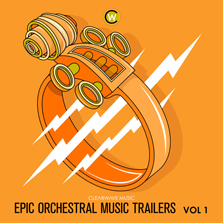 Album cover for CWM0069 Epic Orchestral Music Trailers Vol. 1