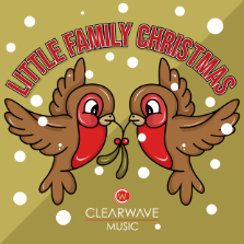 Album cover for CWM0079 Little Family Christmas