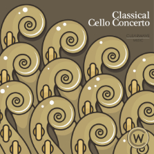 Album cover for CWM0091 Classical Cello Concerto