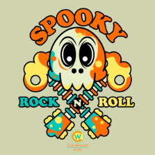Album cover for CWM0092 Spooky Rock 'n Roll