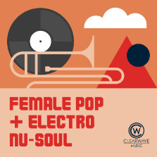 Album cover for CWM0105 Female Pop & Electro Nu-Soul