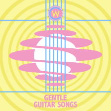 Album cover for CWM0110 Gentle Guitar Songs