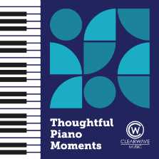 Album cover for CWM0112 Thoughtful Piano Moments