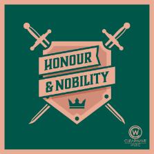 Album cover for CWM0118 Honour & Nobility