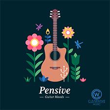 Album cover for CWM0119 Pensive Guitar Moods