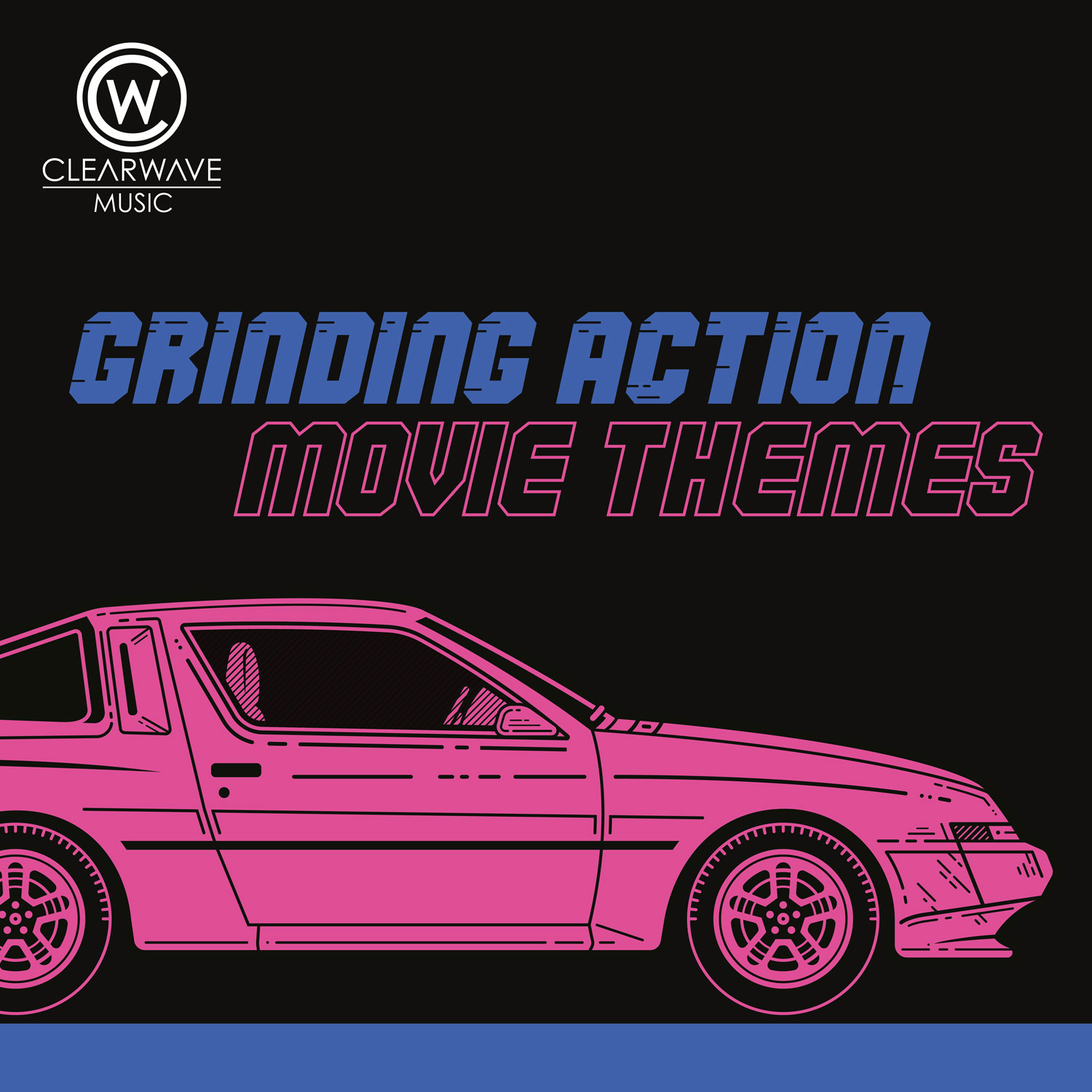 Album Artwork for CWM0125 Grinding Action Movie Themes