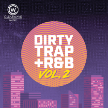 Album cover for CWM0126 Dirty Trap & R&B Vol. 2