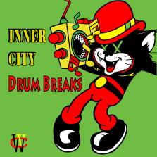 Album cover for CWM0007 Inner City Drum Breaks