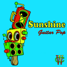 Album cover for CWM0013 Sunshine Guitar Pop